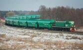 Укрзалізниця за минулий рік перевезла понад 35 млн. тонн зернових вантажів