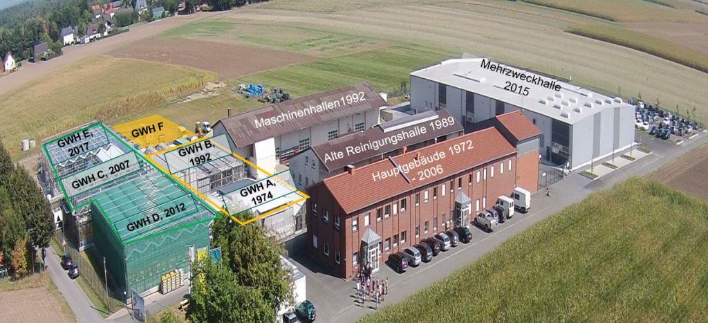 Модернізація однієї з основних та найбільших селекційно-дослідних станцій ДСВ