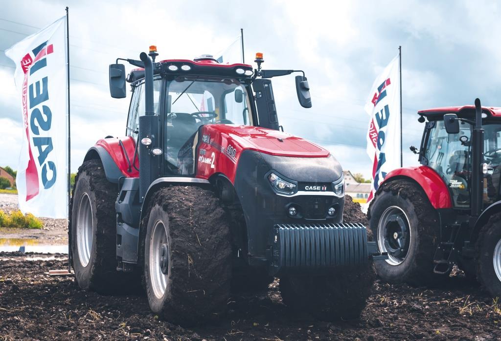 Трактор Case IH Magnum 400 AFS Connect – свобода господарювати по-своєму