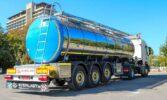 Вітчизняний виробник виготовив нові молоковози на шасі Scania