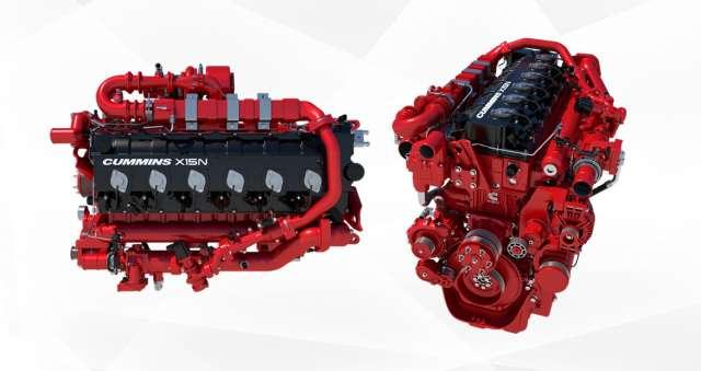 Cummins анонсував революційний 15-літровий газовий двигун для важких вантажівок